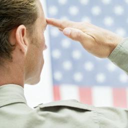 Close Flag Salute