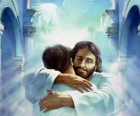 Jesus welcomes you in Heaven