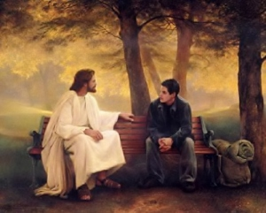 Sit with Jesus